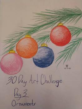 30 Day Art Challenge Day 3