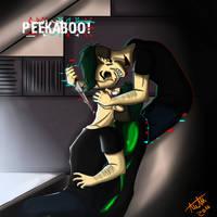 PEEKABOO! [SPEEDPAINT] by MissNitlL