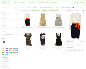 Styloot Shop - First Design