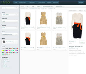 Styloot Shop - Second Iteration