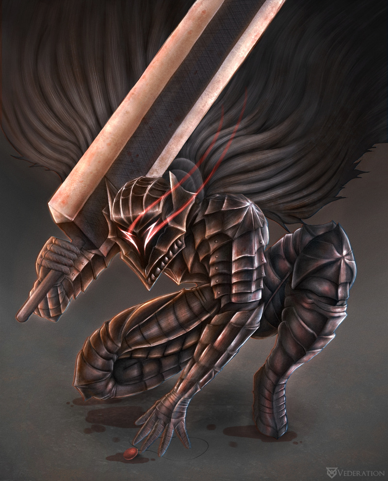 The Black Swordsman by Vederation