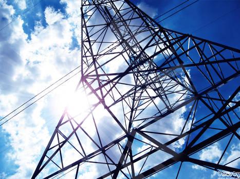 Power Lines Sky