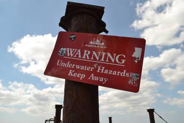 Skull laden warning