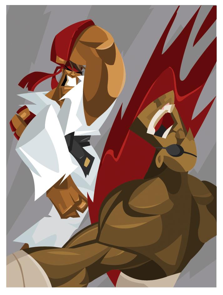 Street Fighter Fanart. by hangemhigh13