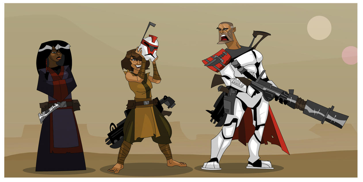 RPG Party Lineup XII (Star Wars) by hangemhigh13