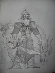 Dirty Sketch #7 - Arpad by hangemhigh13