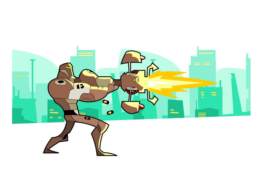 Battle Bot by hangemhigh13