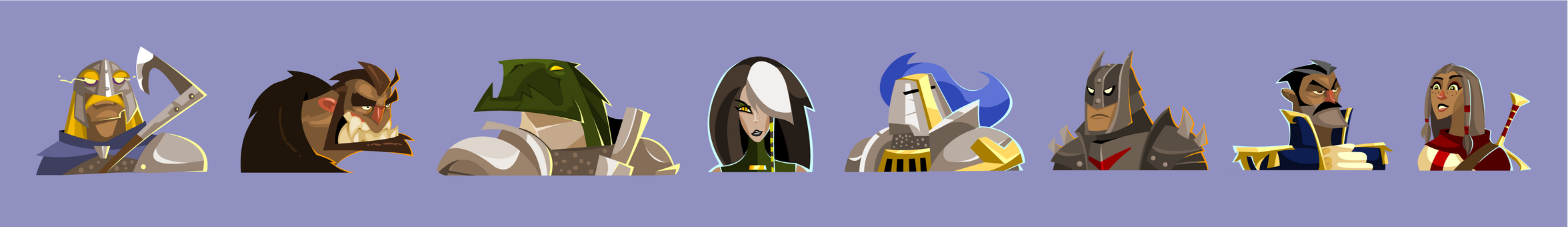 DnD Party Portraits vol. V - DIscards by hangemhigh13