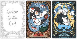 Custom World of Griffia Cards by NastasiaRose