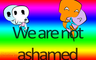 We Are Not Ashamed by PhantasticPhams