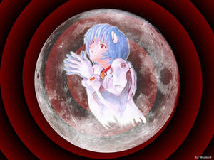 Rei and the Moon