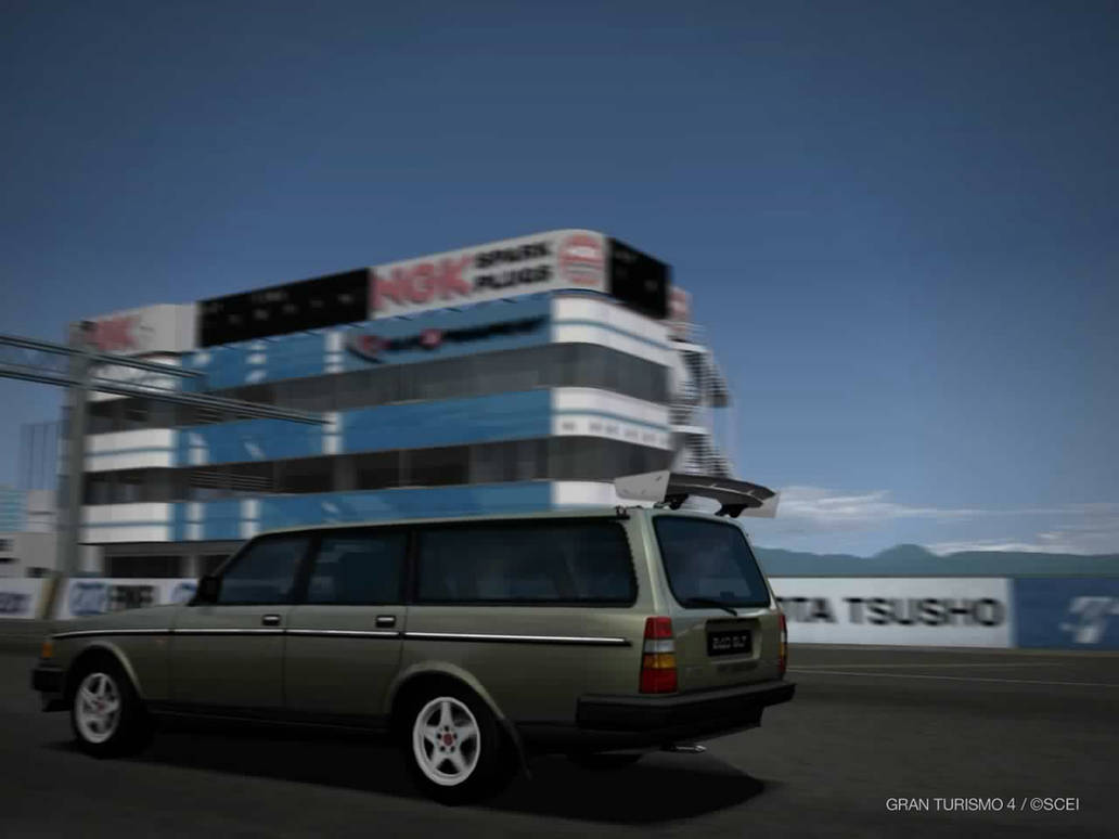 Super Volvo 240 Wagon By Street Racer On Deviantart