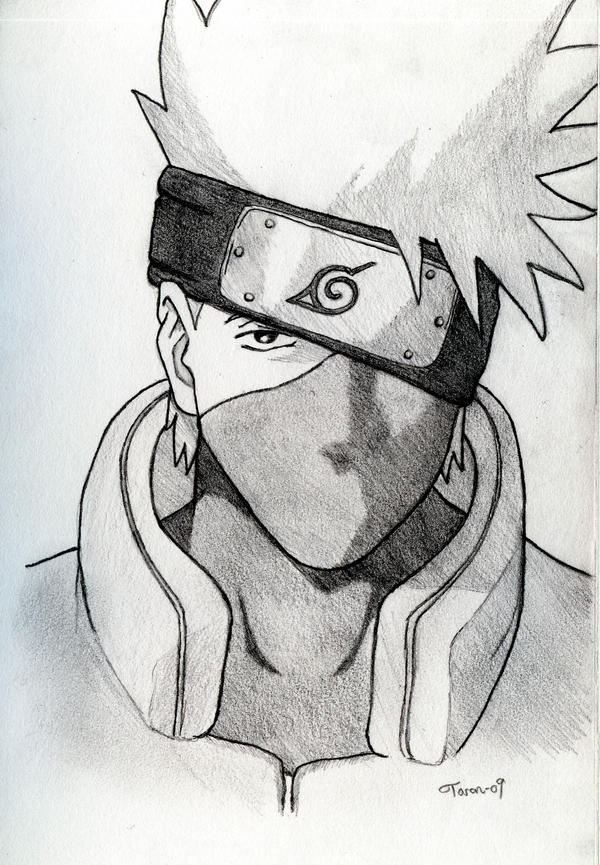 kakashi drawing by adniv