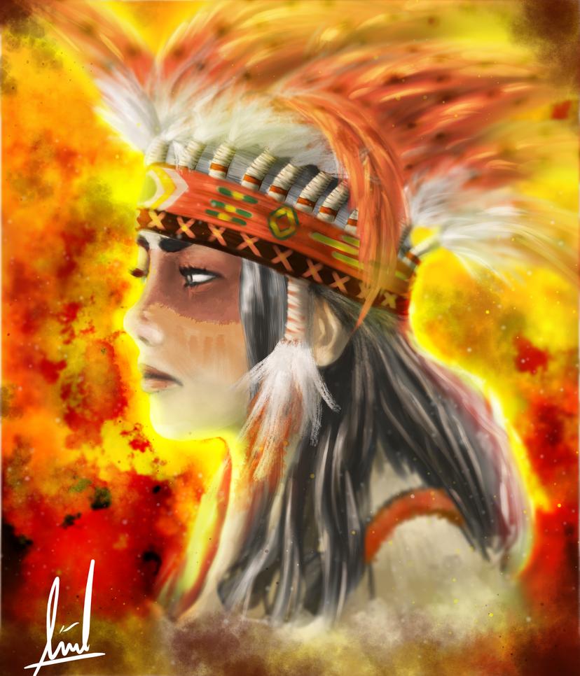 Indian by AndrisSaputra