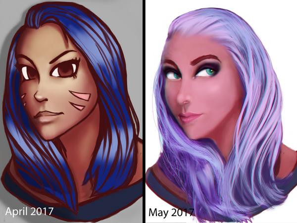 my art progress by AndrisSaputra