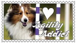 Agility Addict Stamp by SnowWhitesAngel