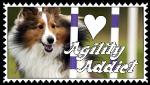 Agility Addict Stamp by SnowWhitesAngel