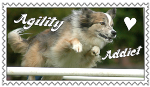 Agility Addict Stamp 2 by SnowWhitesAngel