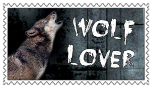 Wolf Lover Stamp by SnowWhitesAngel