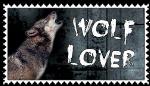 Wolf Lover Stamp by SnowWhitesAngel