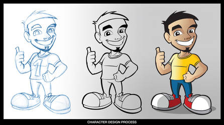 HADYI Mascot design by demm9000