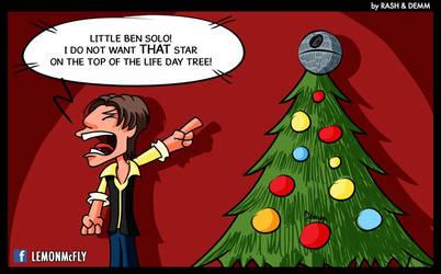 Merry Christmas (on a galaxy far far away) by demm9000