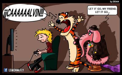 Actual Calvin by demm9000