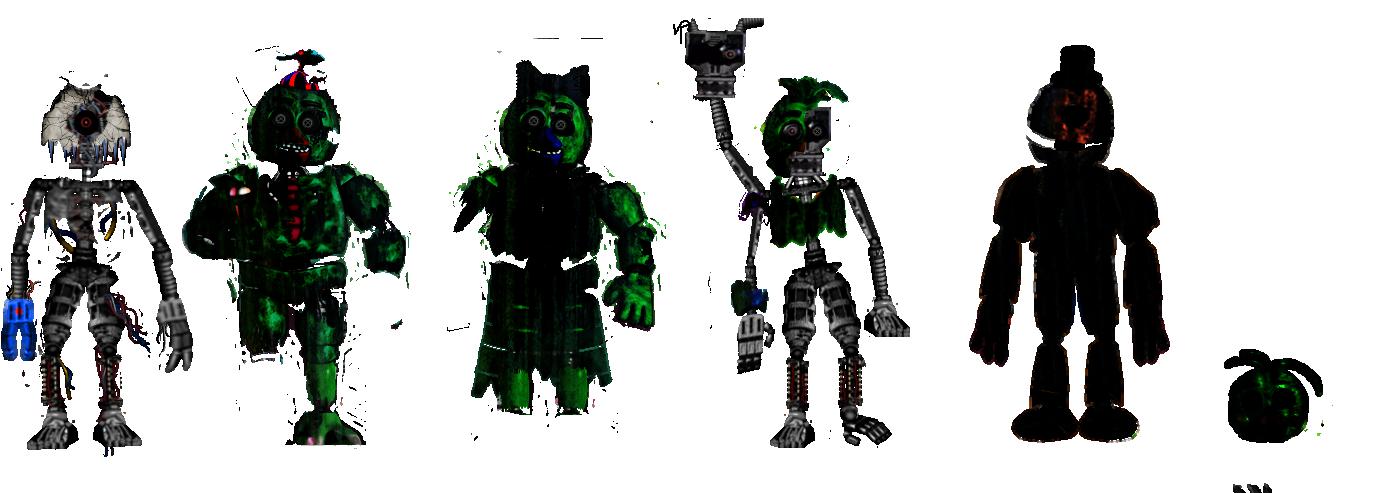Random Fnaf Fan Mades 3# by shadowNightmare13