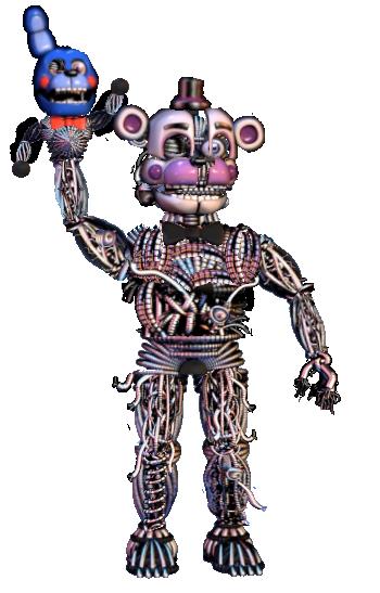 Ennarded Funtime Freddy by shadowNightmare13