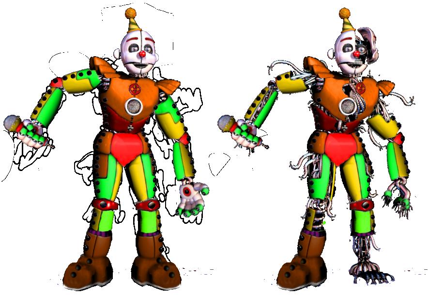 Circus Ennard by shadowNightmare13
