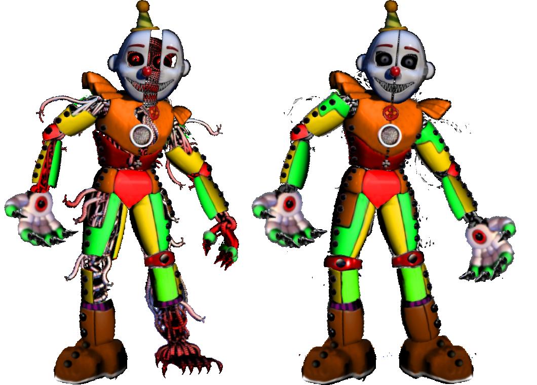 Monster Circus Ennard by shadowNightmare13