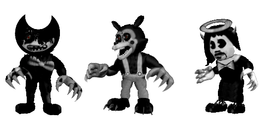 Adv. Monster Cartoons by shadowNightmare13