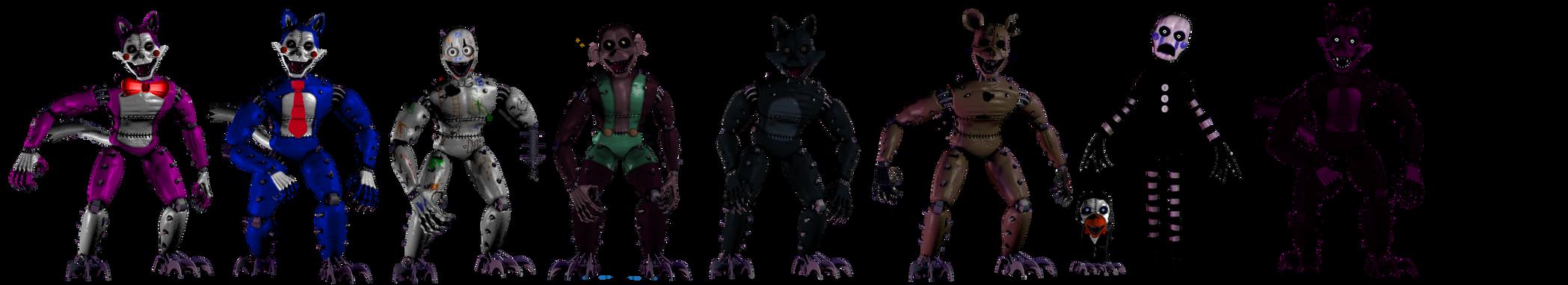 Monster Fnac 1 by shadowNightmare13