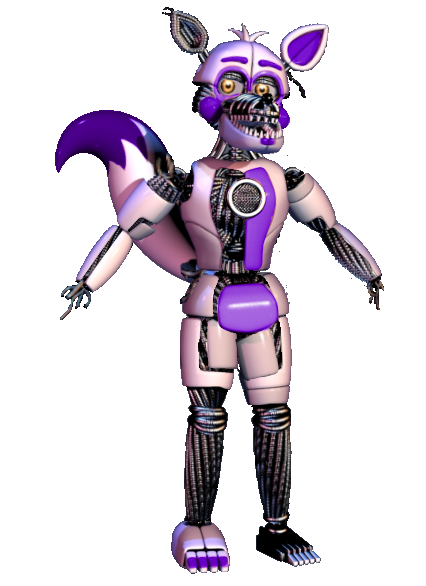 Early funtime foxy by shadowNightmare13