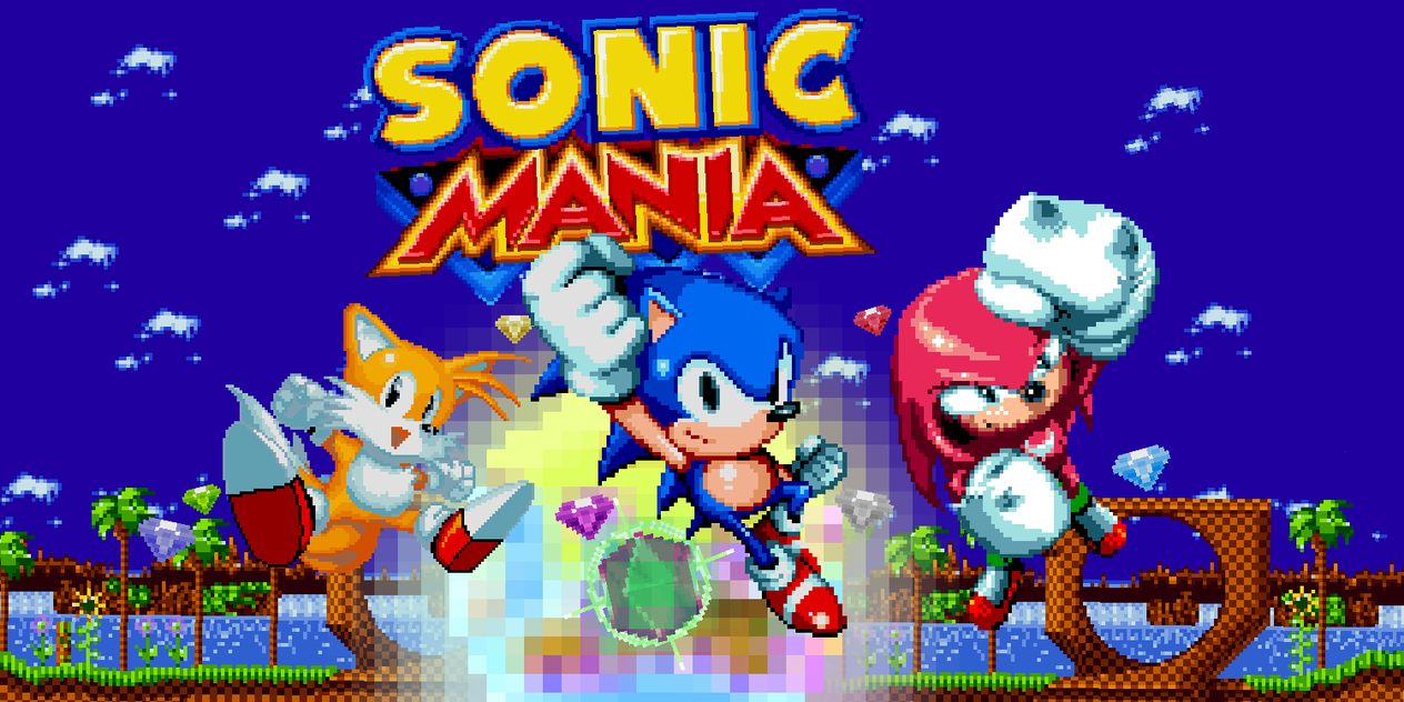Sonic Mania(poster) by shadowNightmare13