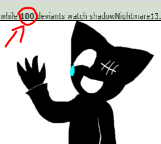 100 Whatchers by shadowNightmare13