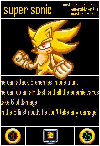 Undercards Super Sonic(transformation) by shadowNightmare13
