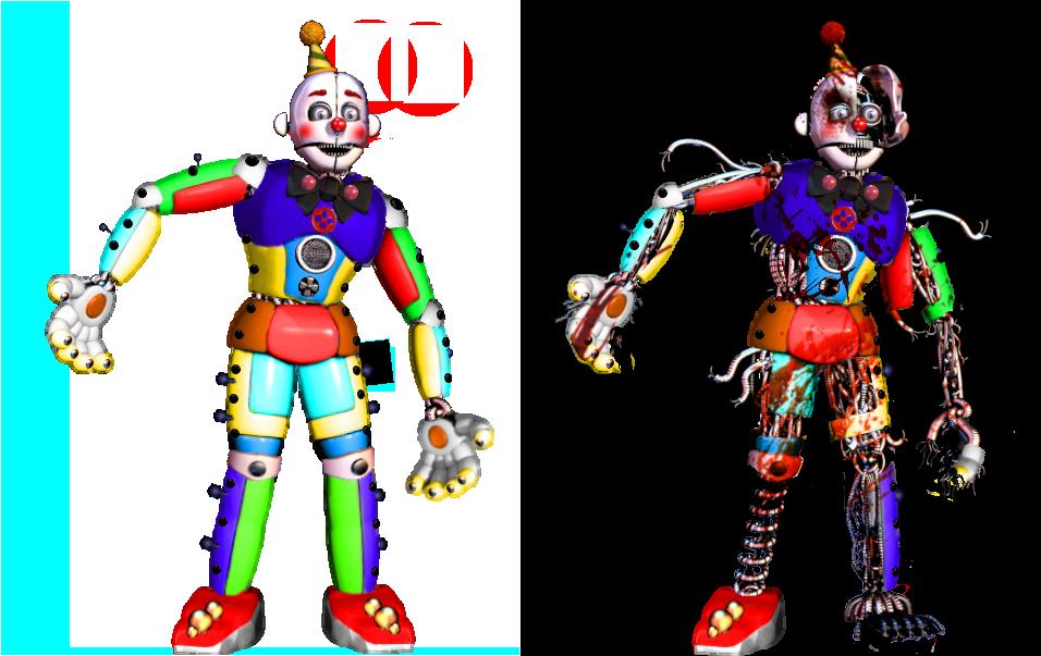 Circus Ennard 2.0 by shadowNightmare13