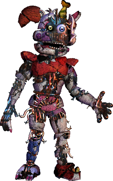 Broken Ennard by shadowNightmare13