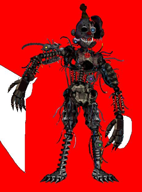 Nightmare Ennard by shadowNightmare13