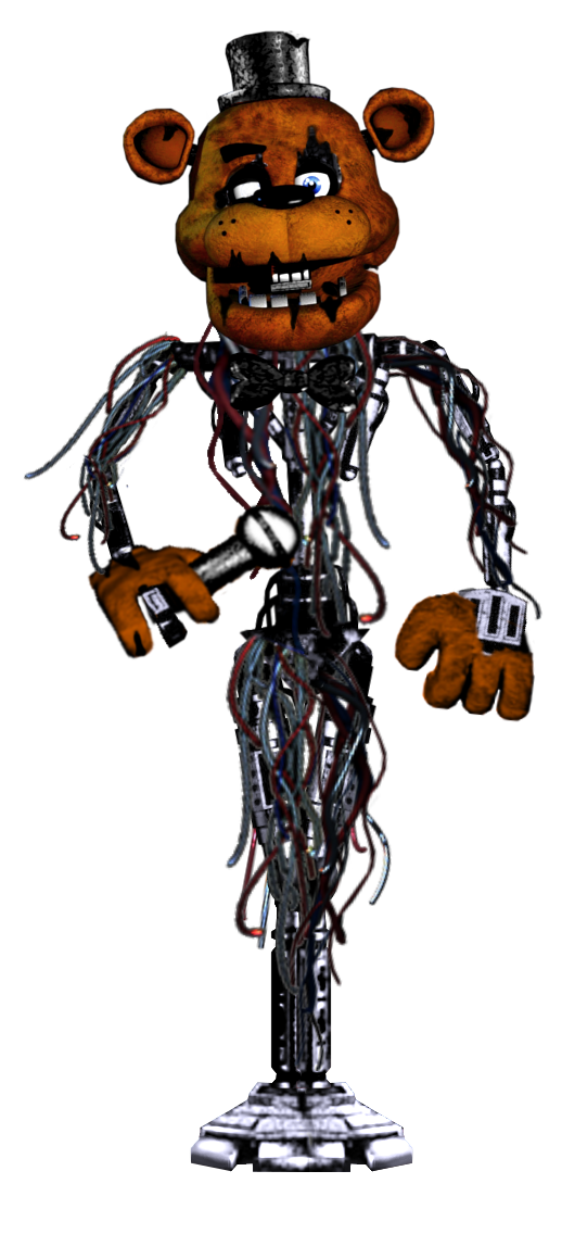Classic Molten Freddy by shadowNightmare13
