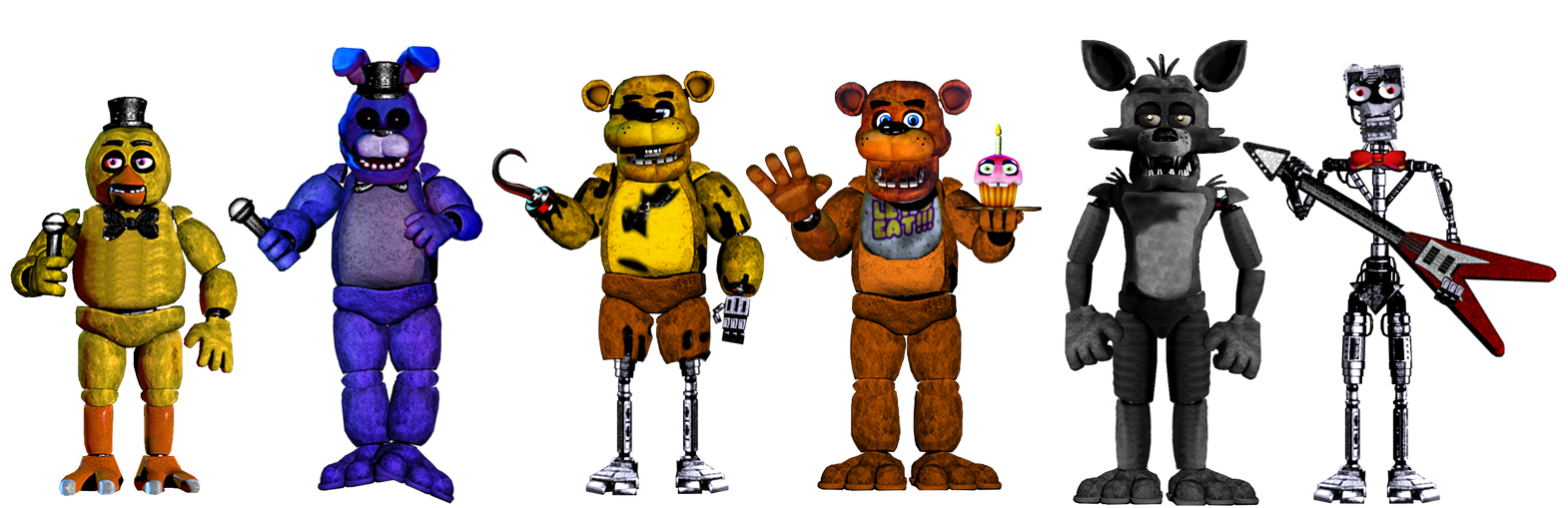 Five Nights In A New Shift by shadowNightmare13