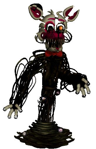 Molten Foxy Ver 2.0 by shadowNightmare13
