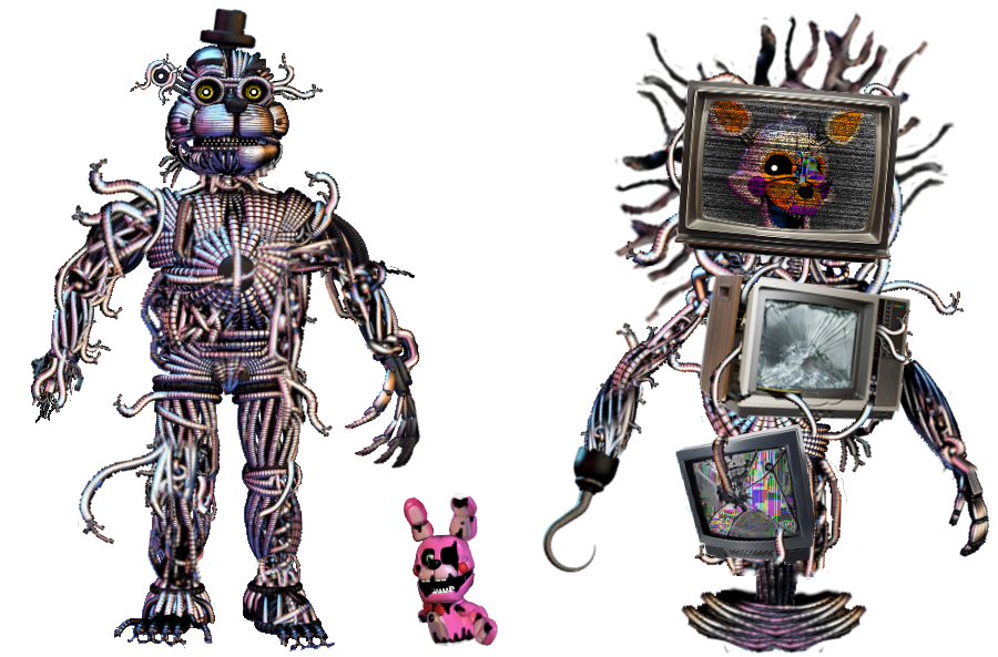 The Scrap Weirdos by shadowNightmare13