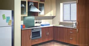 Kitchen - VN Background