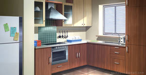 Kitchen - VN Background by Vui-Huynh