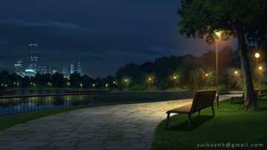 River walk - Visual Novel BG by Vui-Huynh