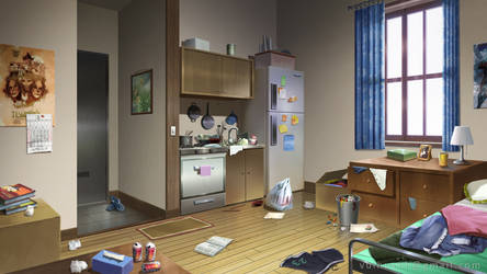 Messy Room by Vui-Huynh