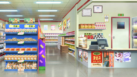 Small grocery store by Vui-Huynh
