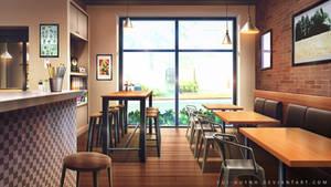 Coffee Shop by Vui-Huynh